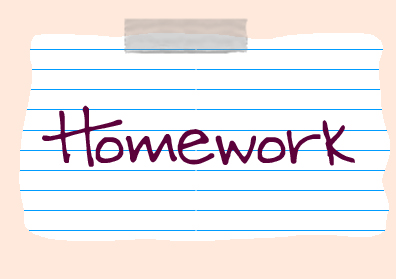 Image result for half term homework