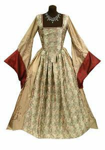 1500s wedding dresses