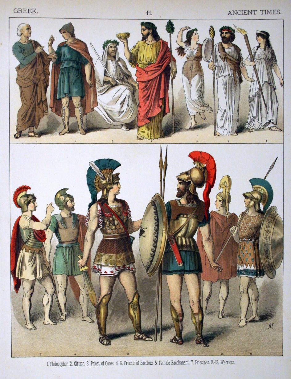 Ancient greek fashion for kids 27